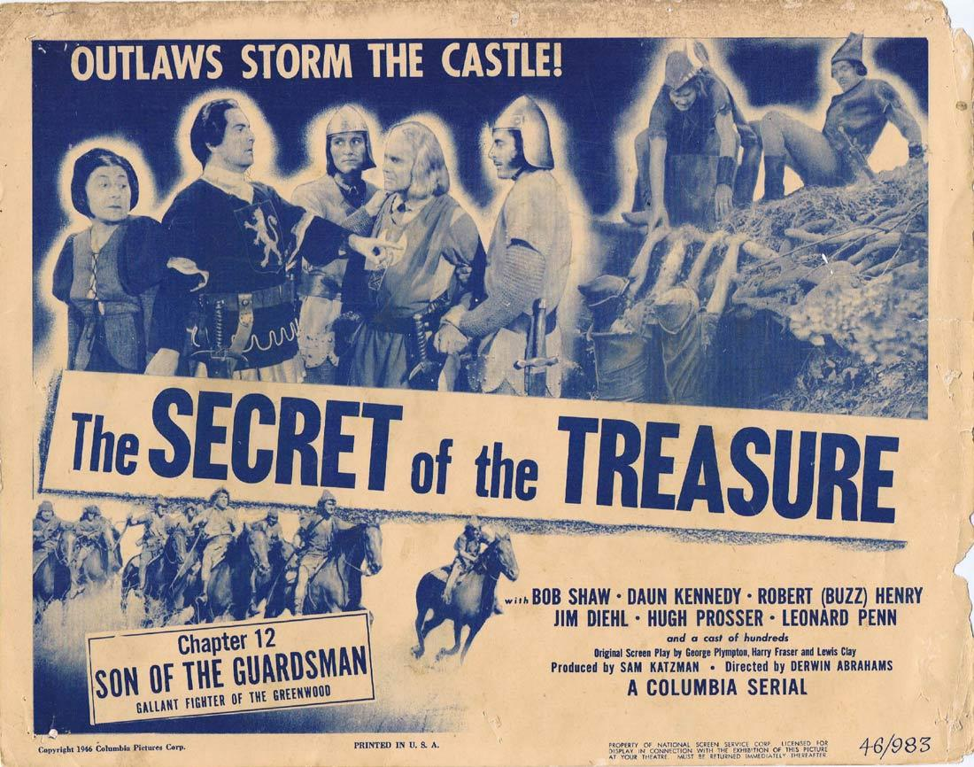 SON OF THE GUARDSMAN Original Title Lobby Card Columbia Serial 1946