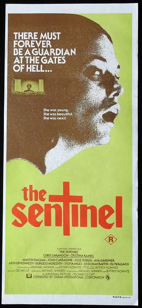 THE SENTINEL Original Daybill Movie Poster Chris Sarandon Horror