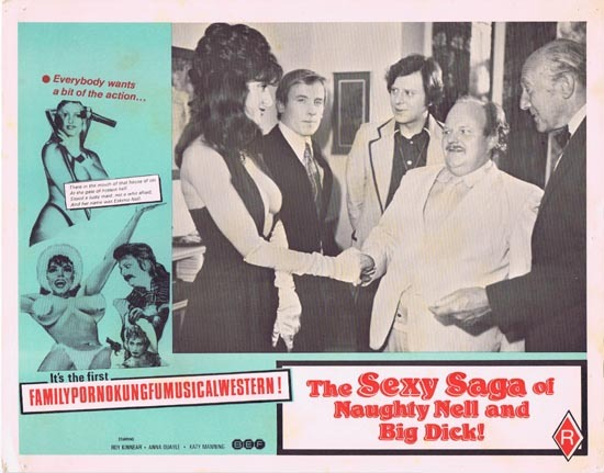 SEXY SAGA OF NAUGHTY NELL AND BIG DICK aka ESKIMO NELL Australian Lobby Card 1