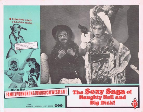 SEXY SAGA OF NAUGHTY NELL AND BIG DICK aka ESKIMO NELL Australian Lobby Card 2
