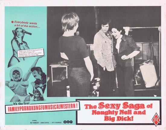 SEXY SAGA OF NAUGHTY NELL AND BIG DICK aka ESKIMO NELL Australian Lobby Card 6