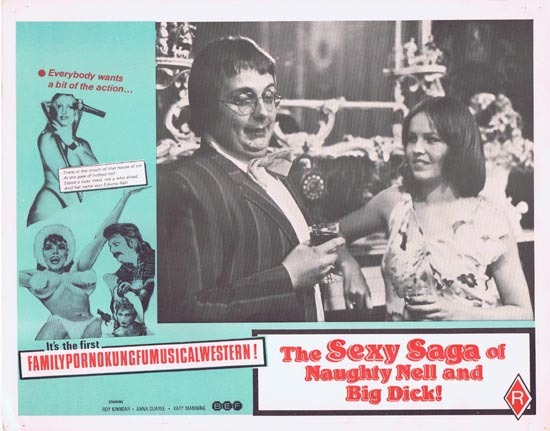 SEXY SAGA OF NAUGHTY NELL AND BIG DICK aka ESKIMO NELL Australian Lobby Card 7