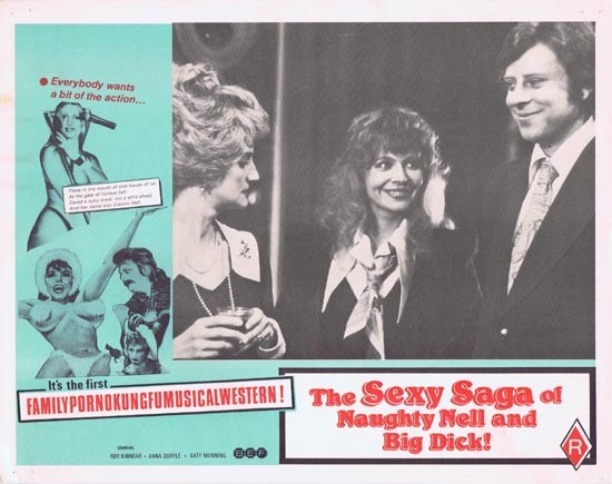 SEXY SAGA OF NAUGHTY NELL AND BIG DICK aka ESKIMO NELL Australian Lobby Card 8