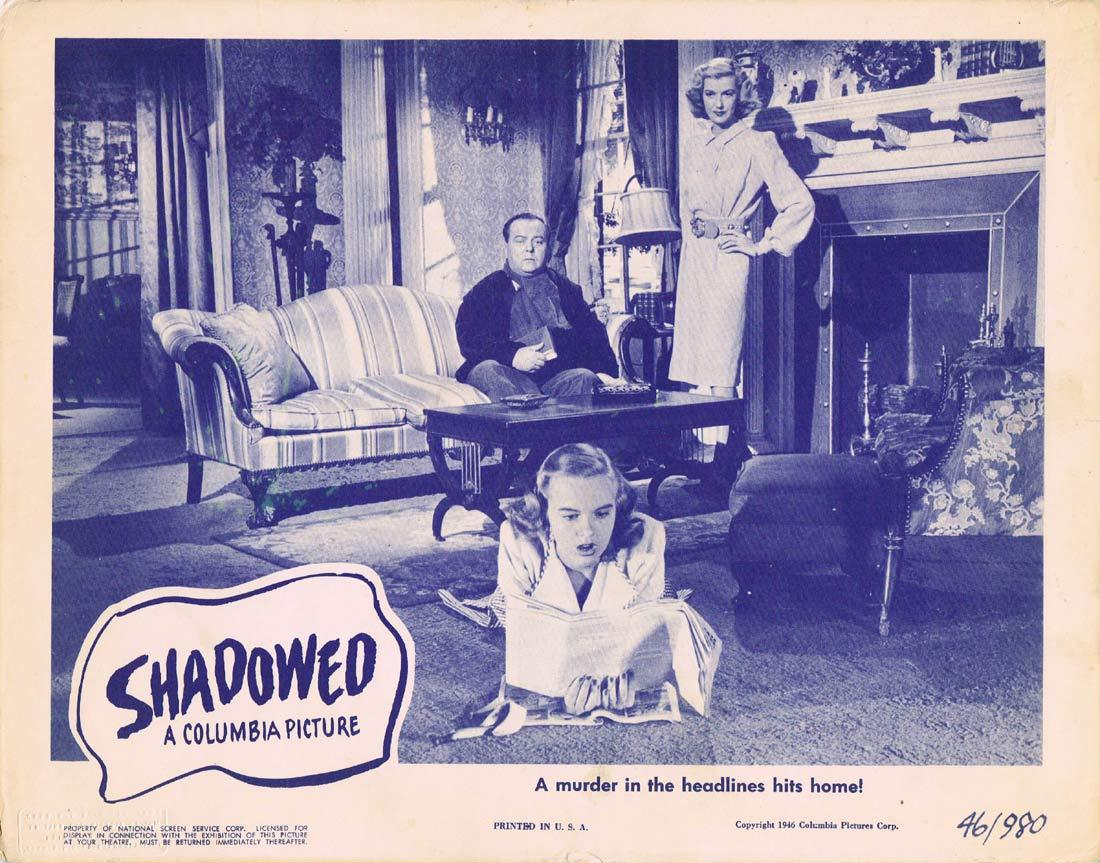 SHADOWED Original Lobby Card 2 Anita Louise
