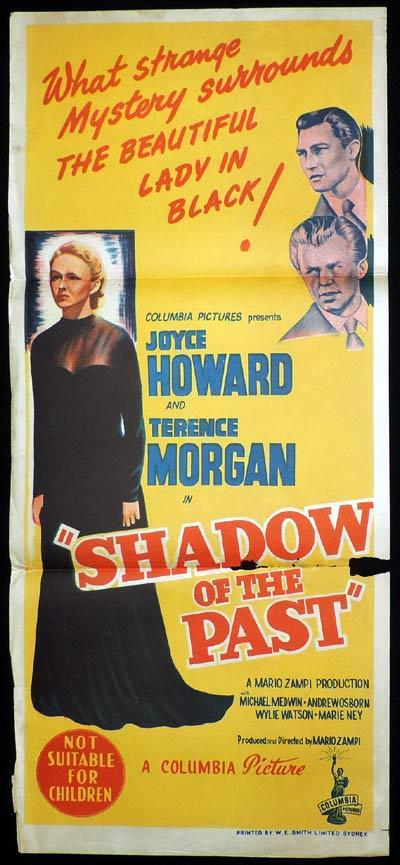 SHADOW OF THE PAST Daybill Movie poster Film Noir