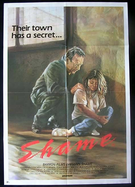 SHAME Deborra Lee Furness AUSTRALIAN CINEMA One sheet Movie poster