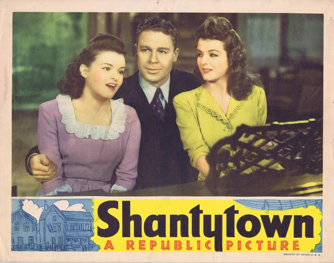 SHANTY TOWN Original Lobby Card Mary Lee John Archer Marjorie Lord