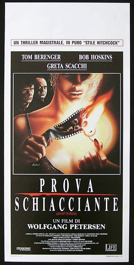 SHATTERED Italian Locandina Movie Poster Tom Berenger Sandro Cecchini art