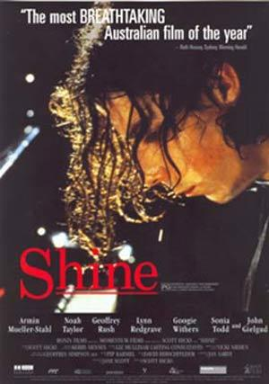 SHINE Geoffrey Rush Original Movie handbill Flyer
