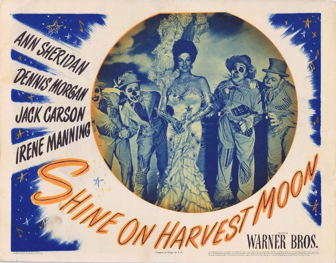 SHINE ON HARVEST MOON Lobby Card 2 Ann Sheridan