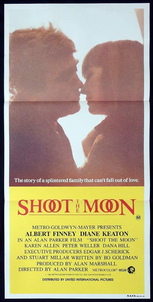 SHOOT THE MOON Rare Daybill Movie poster Albert Finney Diane Keaton Karen Allen