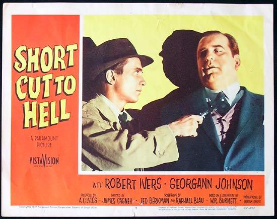 SHORT CUT TO HELL 1957 Robert Ivers Film Noir US Lobby Card 7