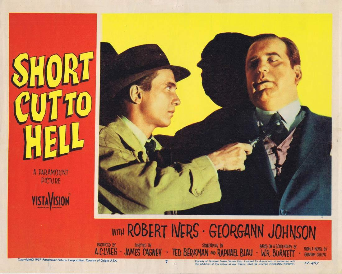 SHORT CUT TO HELL Lobby Card 7 Robert Ivers Georgann Johnson