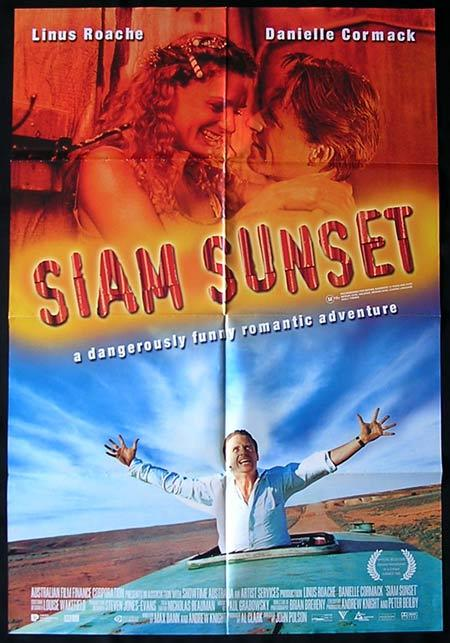 SIAM SUNSET Movie Poster 1999 John Polson Australian One sheet