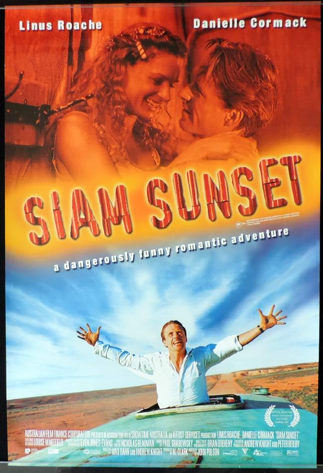 SIAM SUNSET Original Daybill Movie Poster Danielle Cormack Linus Roache