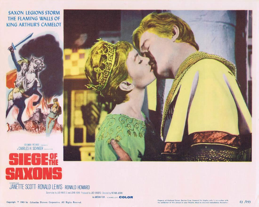 SIEGE OF THE SAXONS Lobby Card 8 Janette Scott Ronald Lewis Ronald Howard