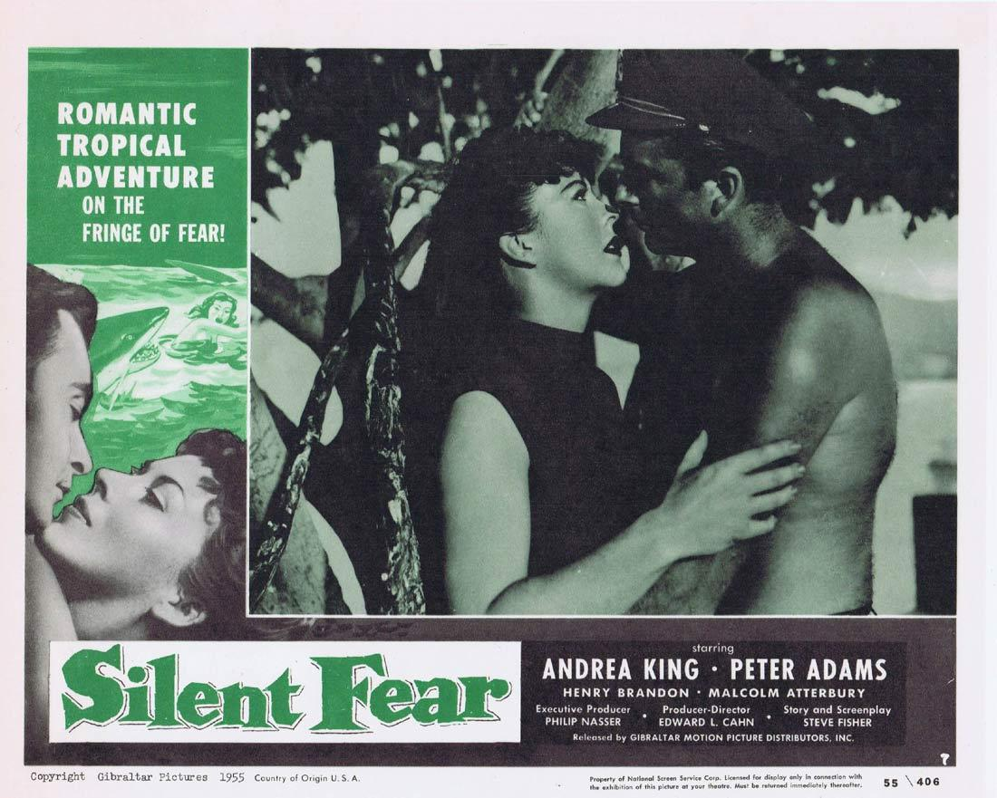 SILENT FEAR Lobby Card 7 Andrea King Peter Adams Henry Brandon
