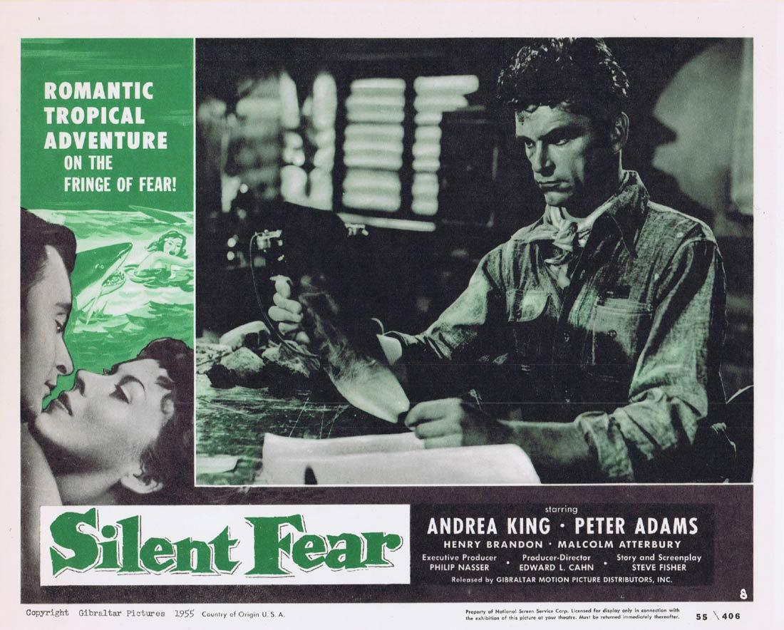 SILENT FEAR Lobby Card 8 Andrea King Peter Adams Henry Brandon