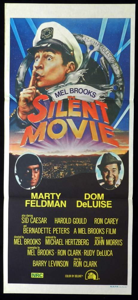 SILENT MOVIE Original Daybill Movie Poster Mel Brooks Marty Feldman