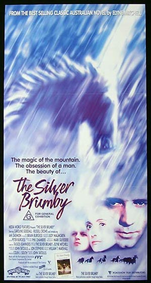 THE SILVER BRUMBY Original Daybill Movie Poster