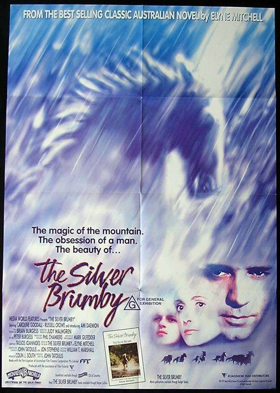 SILVER BRUMBY, The (1993) Country of Origin ONE SHEET Movie Poster
