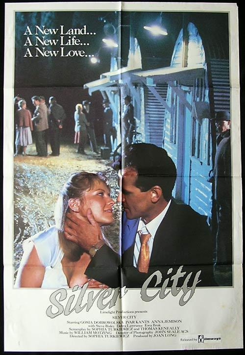 Silver City 1984 Rare Country of Origin One Sheet Movie poster