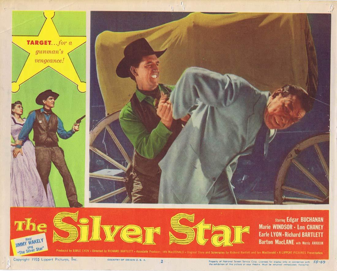 THE SILVER STAR Original Lobby Card 2 Edgar Buchanan Marie Windsor