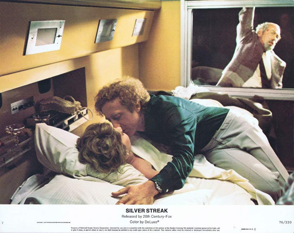 SILVER STREAK Lobby Card 7 Gene Wilder Jill Clayburgh Richard Pryor