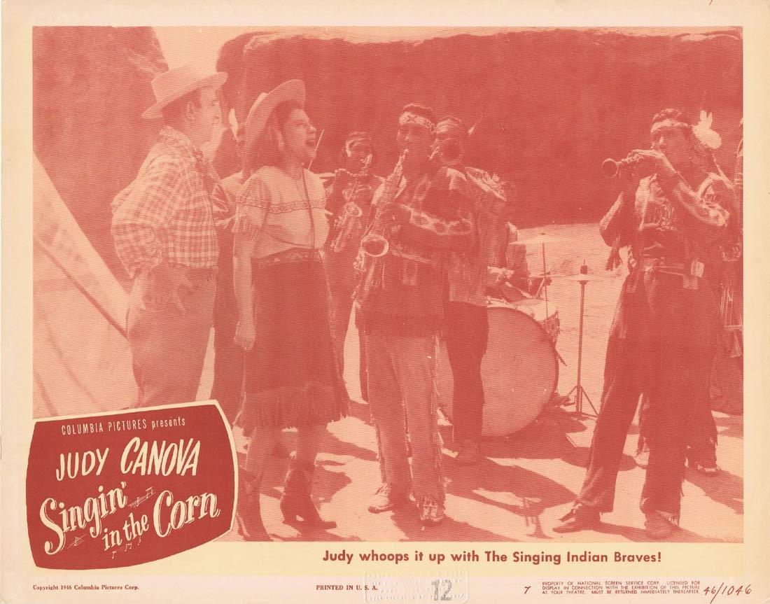 SINGIN IN THE CORN Lobby Card 3 Judy Canova Allen Jenkins Guinn 'Big Boy' Williams