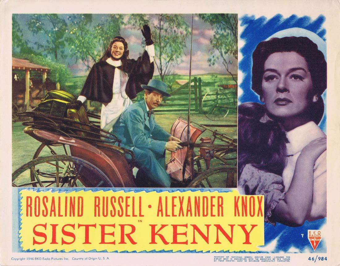 Sister Kenny, Dudley Nichols Jack Gage (dialogue director), Rosalind Russell Alexander Knox Dean Jagger
