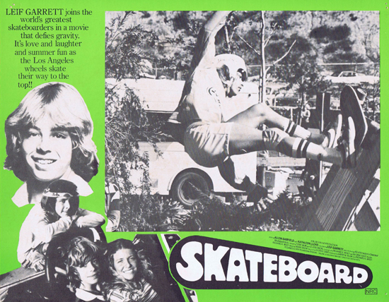 SKATEBOARD 1978 Leif Garrett Rare Australian Lobby Card 4