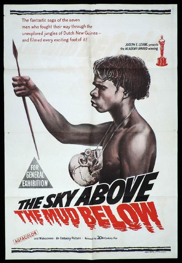 THE SKY ABOVE THE MUD BELOW One Sheet Movie Poster Academy Award winner