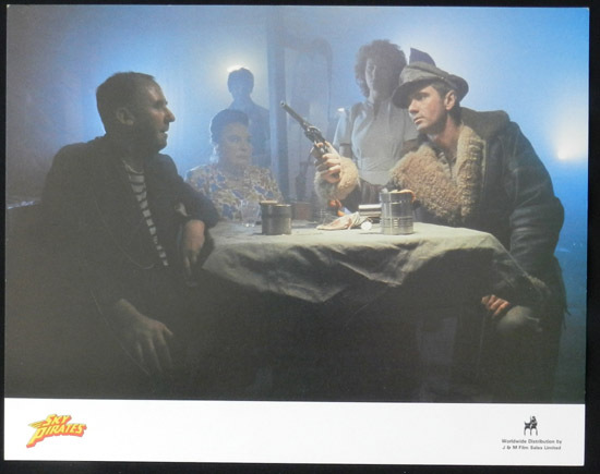 SKY PIRATES 1986 John Hargraeves US Lobby Card 1