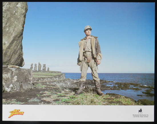 SKY PIRATES 1986 John Hargraeves US Lobby Card 3