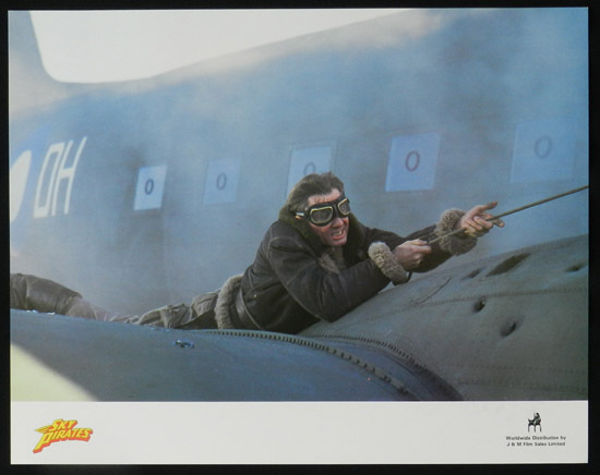 SKY PIRATES 1986 John Hargraeves US Lobby Card 6