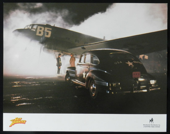 SKY PIRATES 1986 John Hargraeves US Lobby Card 7