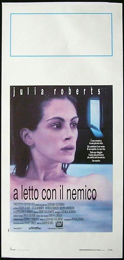 SLEEPING WITH THE ENEMY Italian Locandina Movie Poster Julia Roberts