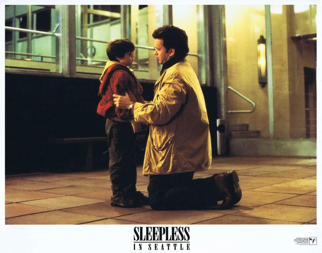 SLEEPLESS IN SEATTLE Original Lobby Card 3 Tom Hanks Meg Ryan