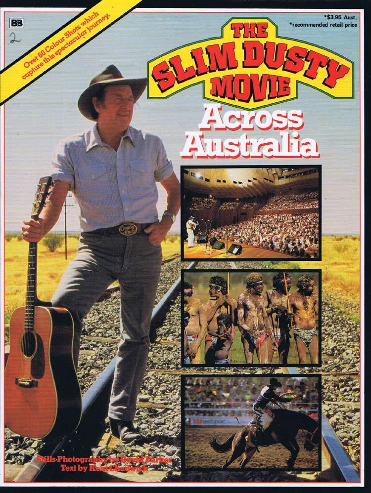 THE SLIM DUSTY MOVIE Original Promotional Movie Booklet