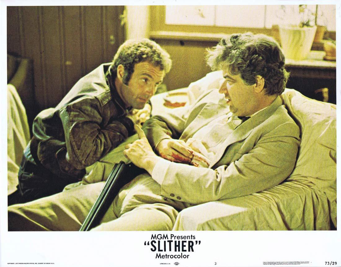 SLITHER Lobby Card 3 James Caan Peter Boyle Sally Kellerman
