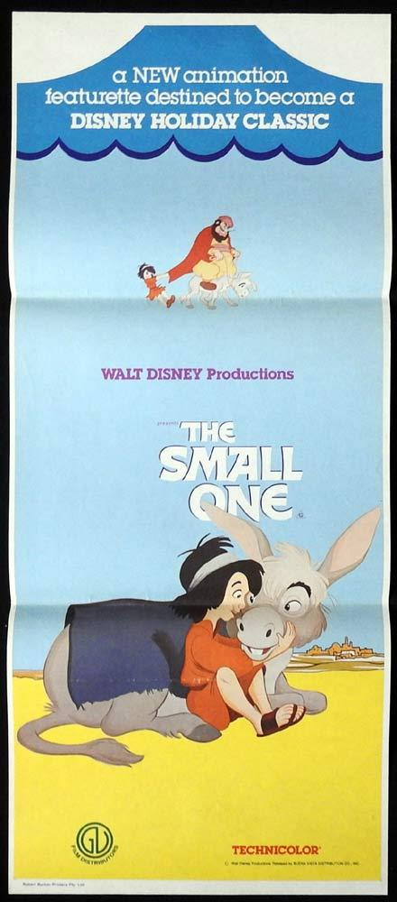 THE SMALL ONE Original Daybill Movie poster Christmas Holiday Classic