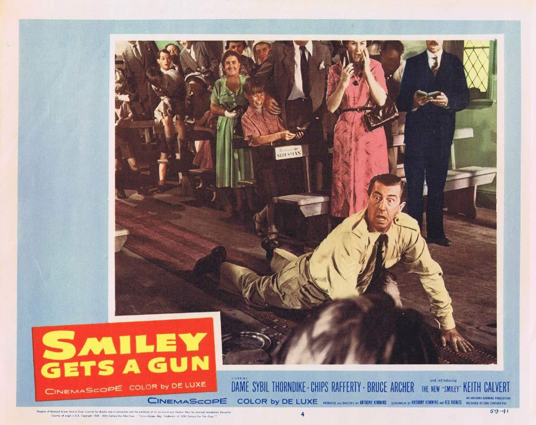 SMILEY GETS A GUN Lobby Card 4 1959 Sybil Thorndike Chips Rafferty