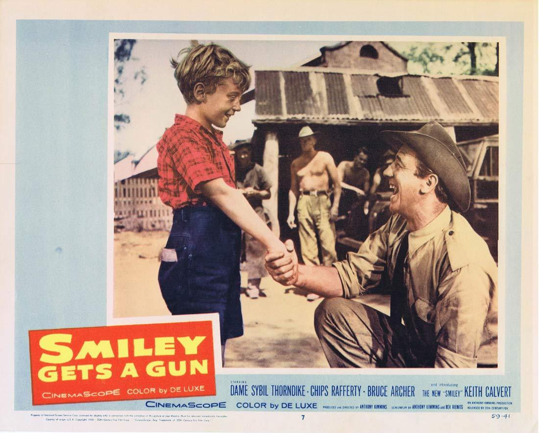 SMILEY GETS A GUN Lobby Card 7 1959 Sybil Thorndike Chips Rafferty
