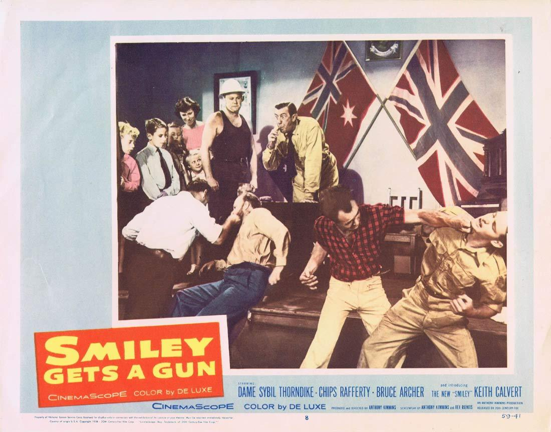 SMILEY GETS A GUN Lobby Card 8 1959 Sybil Thorndike Chips Rafferty