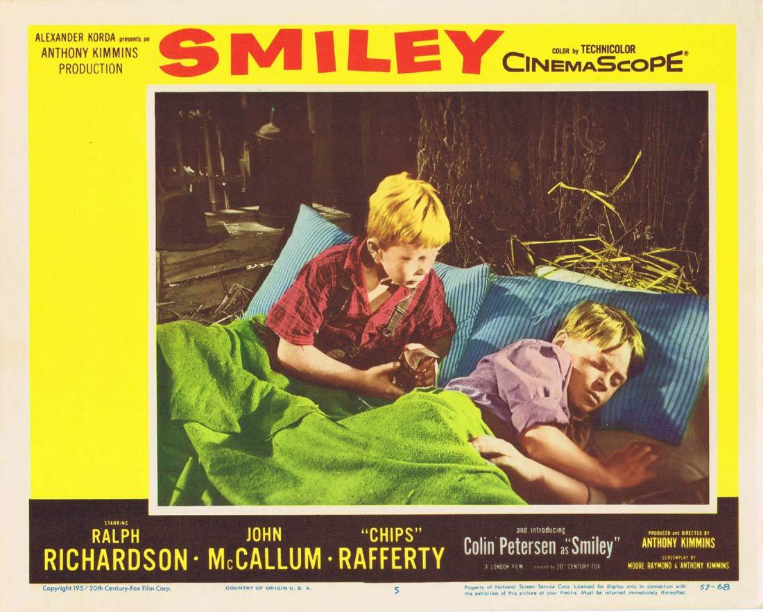 SMILEY Lobby Card 5 Colin Petersen Sybil Thorndike Chips Rafferty 1959
