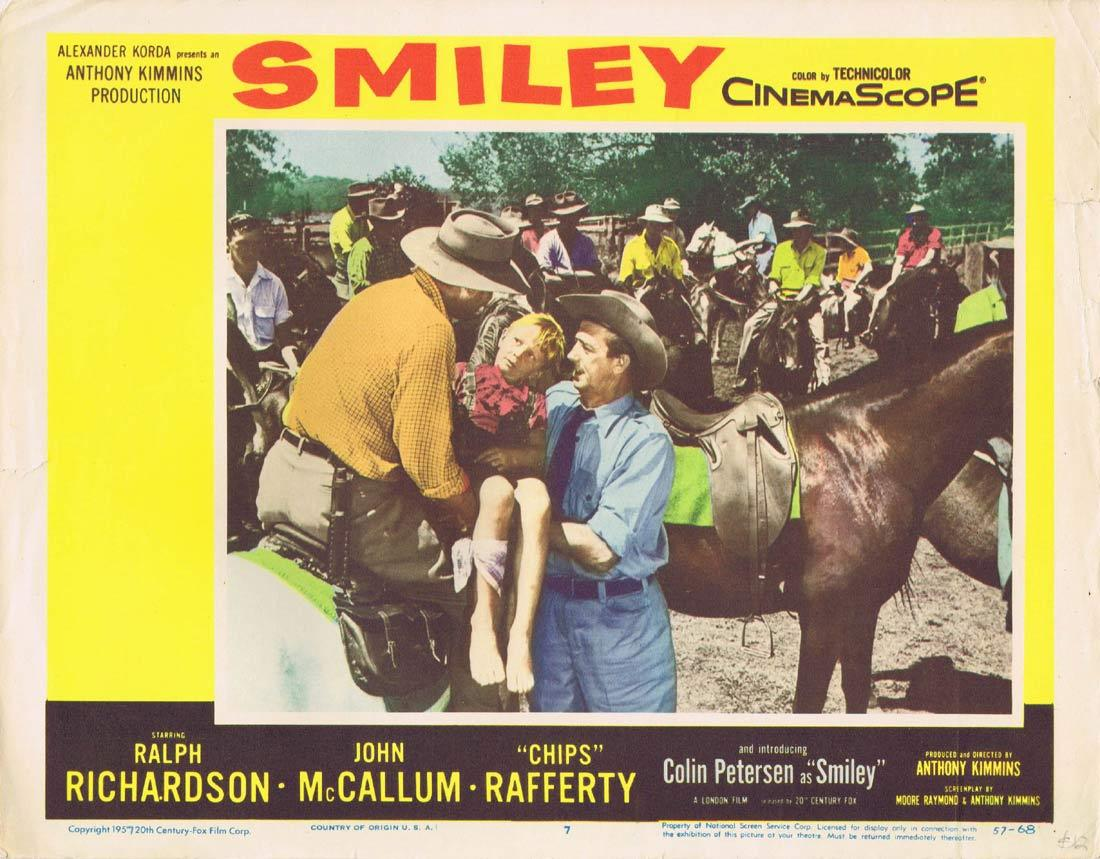 SMILEY Lobby Card 7 Colin Petersen Sybil Thorndike Chips Rafferty 1959