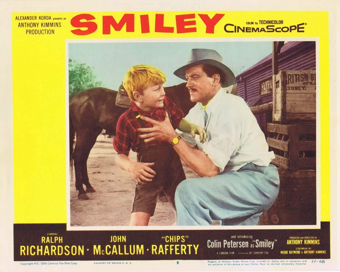 SMILEY Lobby Card 8 Colin Petersen Sybil Thorndike Chips Rafferty 1959