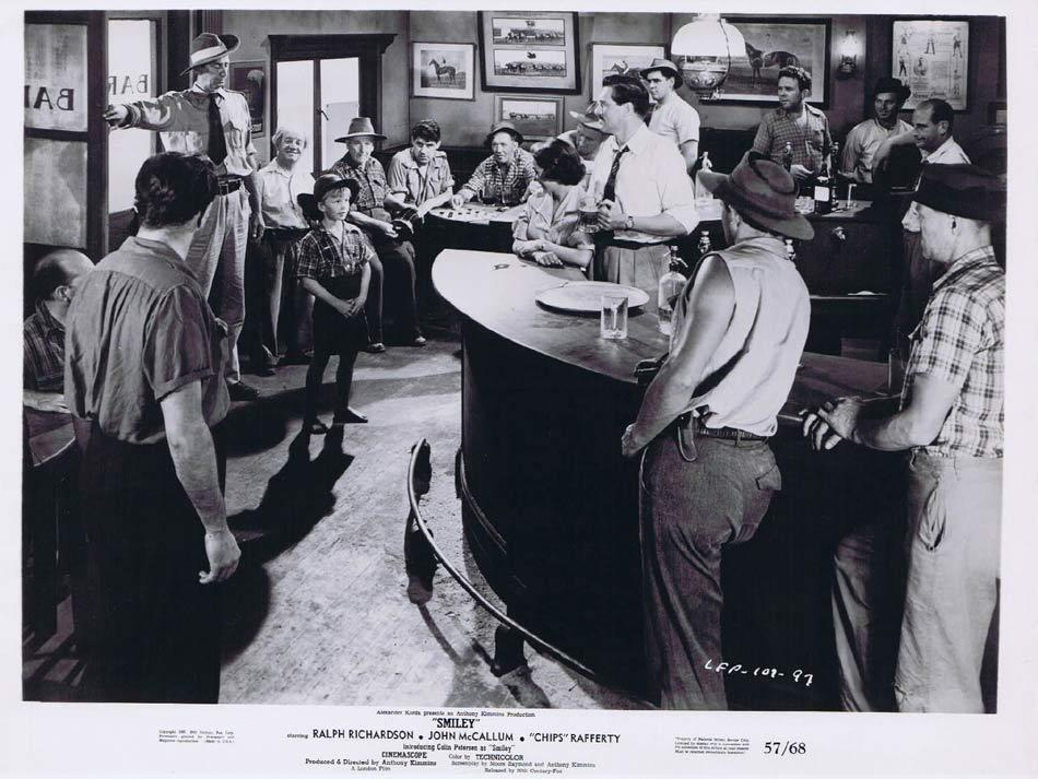 SMILEY Original Movie Still 5 Colin Petersen CHIPS RAFFERTY 1957