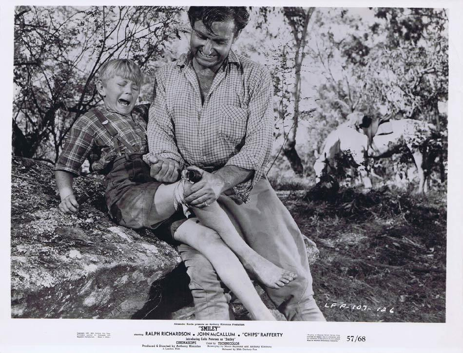 SMILEY Original Movie Still 6 Colin Petersen CHIPS RAFFERTY 1957