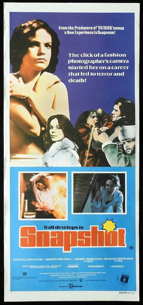 SNAPSHOT aka ONE MORE MINUTE 1979 Chantal Contouri Australian Daybill poster